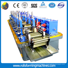 Roll forming machine for making steel pipes/pipe making machine
