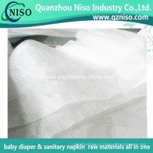 Гидрофильные Н. в. ткань для взрослых пеленки сырья верхний слой нетканого