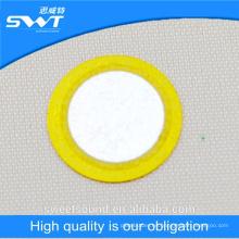 9khz de baja frecuencia de 12 mm de diámetro piezo cerámica beeper elemento