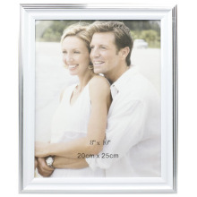 Nouveau Design 8x10inch blanc en plastique Photo Frame