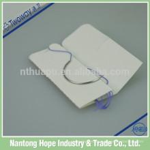 Agujas de sutura curvas de buena calidad con hilo para uso quirúrgico