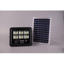 Holofote led 80W movido a energia solar