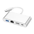 4 em 1 USB C HUB com HDMI