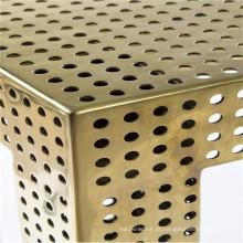 Metal perfurado de alumínio anodizado para decoração