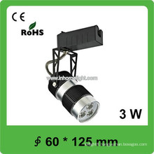 3W Led Exhibition Room Track Spot Light with Pure White