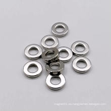 Imán permanente sinterizado fuerte con forma de anillo pequeño