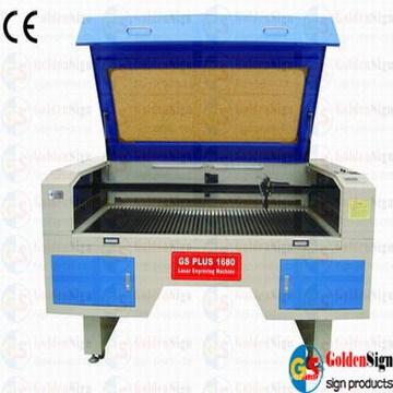 (CE & FDA) Machine de découpe laser à double tête Goldensign