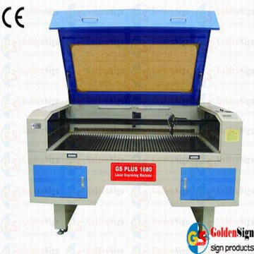 (CE&FDA) Goldensign Double-Head Movable Laser Cutting Machine