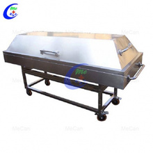 Stainless Steel Funeral Equipment Mortuary Trolley