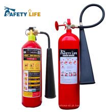 fogo e sistema de segurança CO2 2 KG / 2 kg-5 kg Co2 extintor de gás cilindro de gás