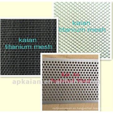 CBRL anping KAIAN malla de titanio utilizado en ácido fuerte / álcali / medio ambiente / industria química (30 años de fábrica)