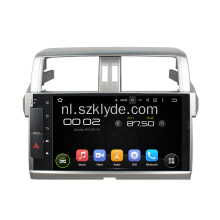 deckless Android 6.0 auto DVD voor PRADO 2015
