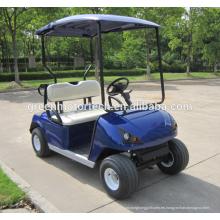 El último coche de golf eléctrico DG-C2 de 2 plazas con certificado CE