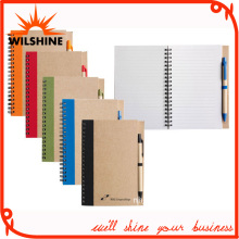 Spiral Notebook Diary with Pen for Stationery Exercise Book (SNB105)