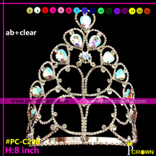 Cheap rhinestone pageant tiaras and crowns for girls