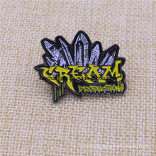 Custom Your Shape Complex Black Nickel Soft Enamel Pin Badge