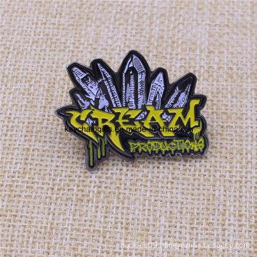 Custom Your Shape Complex Black Nickel Soft Enamel Pin Badge
