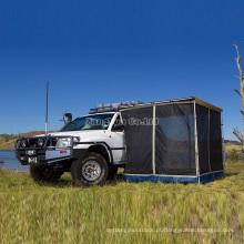 Barraca do carro por atacado, a pradaria que impede barracas do mosquito