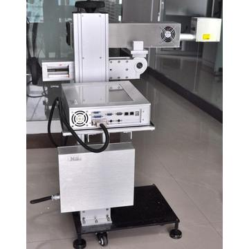Mopa green uv co2 fiber laser marking machine