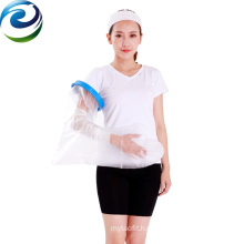 Easy Operating Medical Instrument Soft Material Waterproof Long Arm Cast Cover