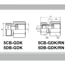 Conector de presión de presión BSPP con anillo de sellado DKI