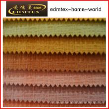 Tecido liso do Chenille para a embalagem do sofá nos rolos (EDM0212)