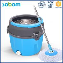 Single Microfiber Durable Spin Floor Cleaning Mop