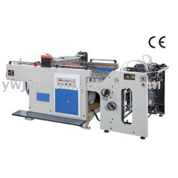 Full auto cylinder screen printing machine