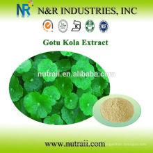 Extracto de centella asiatica Asiaticoside 90% ingrediente cosmético