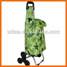 6 wheels fodable shopping cart