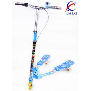 Scooter de pés de crianças com piscando PU roda (BX-WS001)