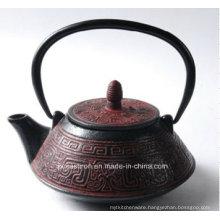 Enamel Cast Iron Teapot 0.8L