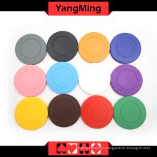 Jetons de poker de couleur solide (YM-RP01)
