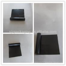 Film de polyester noir opaque / film de polyester noir / film de polyester