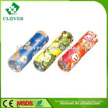 LED flashlights colorful led aluminum flashlight with strap