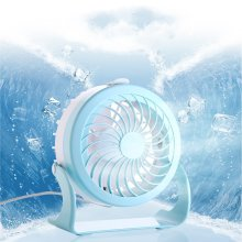 Floor Standing Portable Handheld Small Battery Desk Fan