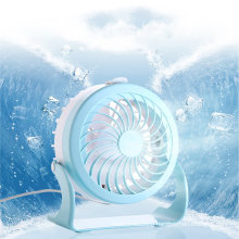 Portable Mini Electric Stand Fan Toy Travel Timer