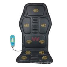 Car Vibrating Infrared Heat Massager Seat Cushion Chair Massage Mattress