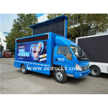 Foton 2 Screen Mobile LED Camiones publicitarios