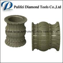 Electroplated Diamond Edge Profile Wheel for Stone Edge Making Machine