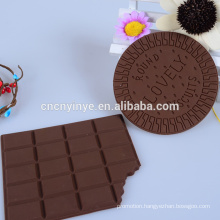 High quality silicone cup mat chocolate cork coaster, cheap PVC coaster