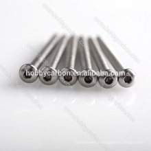 SS013 500pcs/lot Hot Sale Hobby Carbon M3*24mm Hex Button Stainless Steel Screw Price