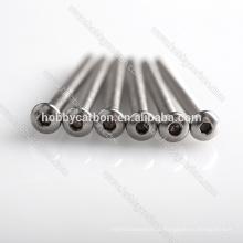 SS013 500 pçs / lote Venda Quente Hobby Carbono M3 * 24mm Botão Hex Aço Inoxidável Preço Parafuso