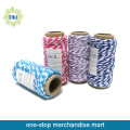 Wholesale Multi Colored Soft Braided Flat Craft Cotton Rope