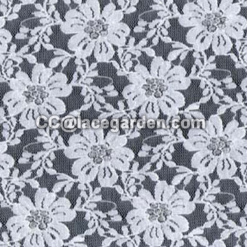 Jacquard Lace Fabric Using In Fashion Dress