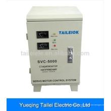 Regulador de voltaje automático de la casa de la CA de 5000W para el refrigerador