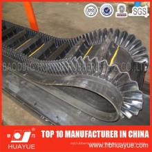 Corrugated Sidewall Conveyor Belt (polyester/ep fabric)