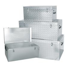 De Buena Calidad Caja de herramientas de aluminio de 1.5mm cuadro de rectángulos de verificación