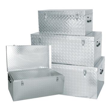 Good Quality 1.5mm Aluminium Check Plate Rectangle Tools Box