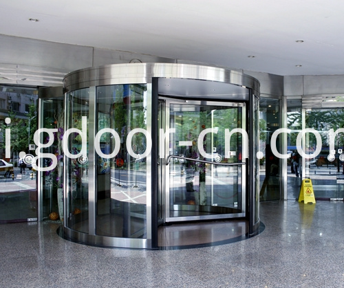 Ningbo KBB Three-wing Automatic Revolving Doors for Commercial